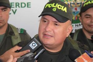 Coronel, Carlos Vargas, Comandante Policía Córdoba.