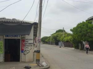 Calle 9 con carrera 36, Barrio Nariño.