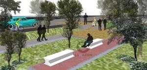 Así quedará la infraestructura del parque de los barrios La Granja y Santa Lucía.