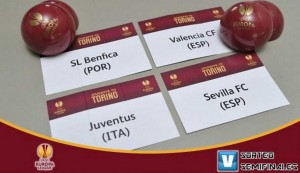 Semifinal de la Europa League, tambien ya esta conformada.