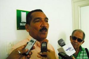 Concejal Amaury Contreras.