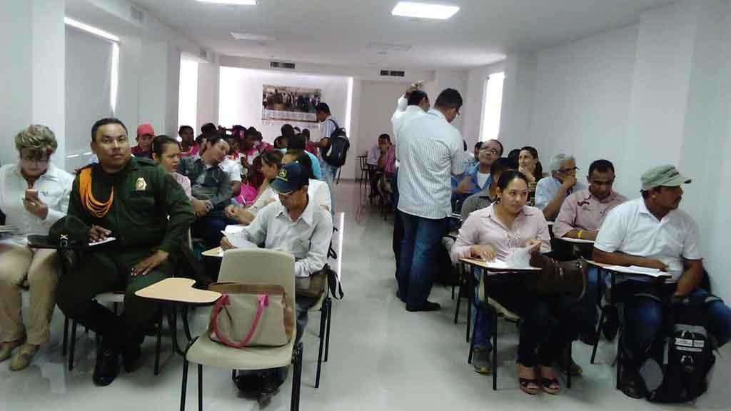 Asistentes a la Rendición de Cuentas de Consolidación Regional Nudo del Paramillo.